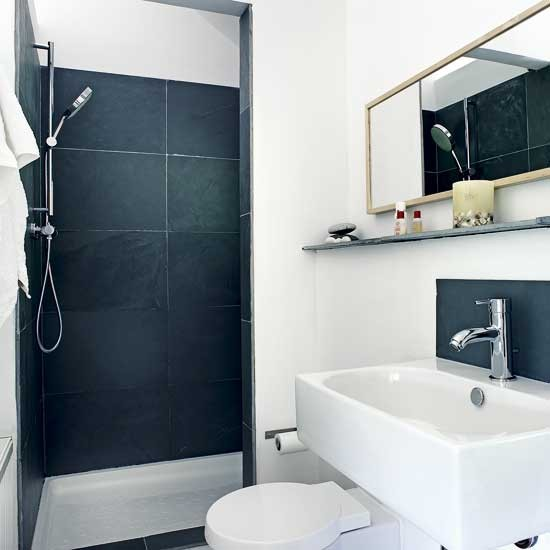 Monochromatic small bathrooms designs on Monochromatic Bathroom Ideas  id=94066