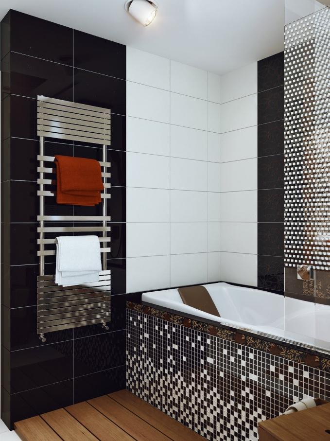 Monochromatic small bathrooms designs on Monochromatic Bathroom Ideas  id=69215