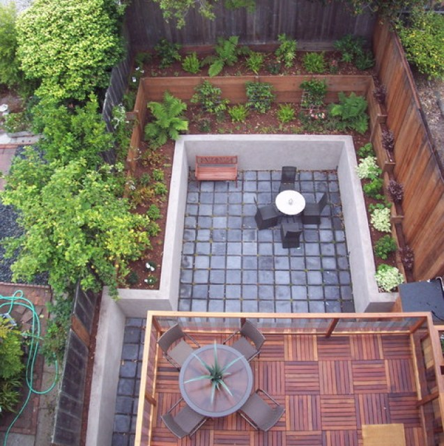 Townhouse Backyard Design Ideas