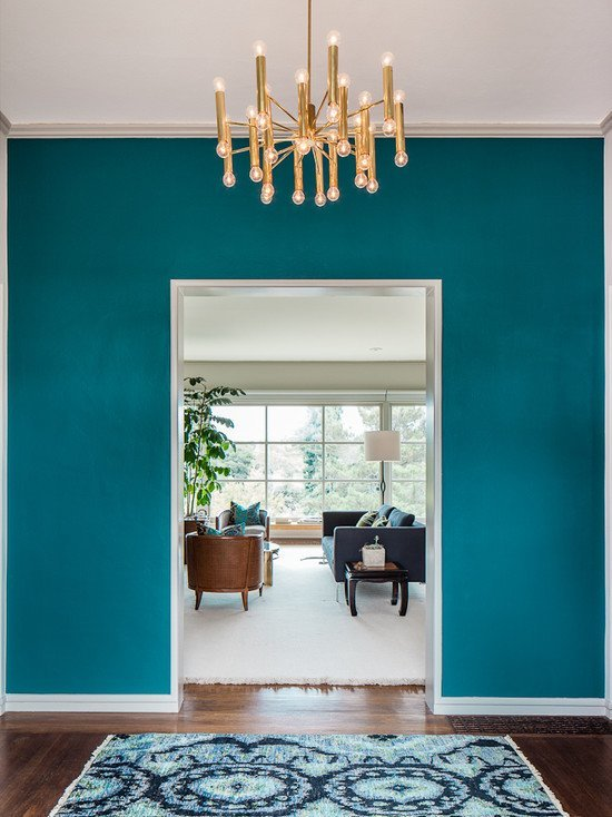 Turquoise Accent Decor
