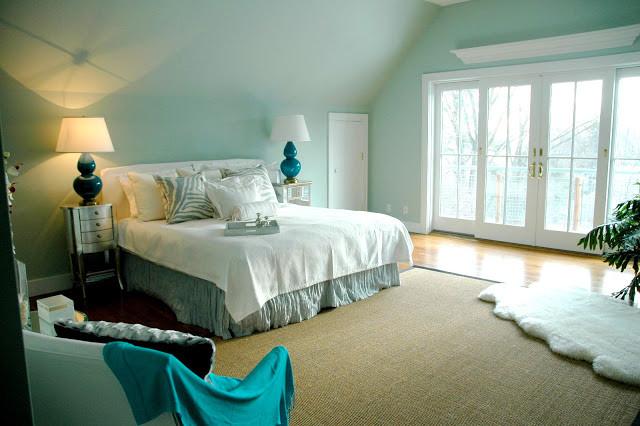 10 Beautiful Turquoise Bedroom Designs