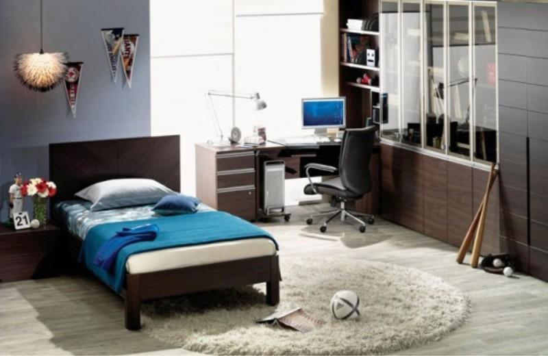 cool teenage boys' bedroom designs on Teenager Basement Bedroom  id=23087