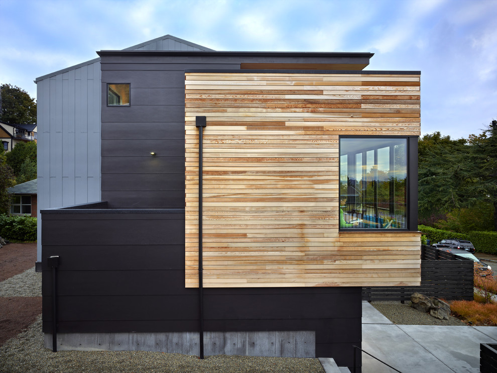 Cycle House design By Chadbourne + Doss Architects on Modern House Siding  id=47814
