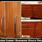 Kitchen Cabinet Hardware Update Project