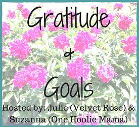 Gratitude and Goals Linky Party