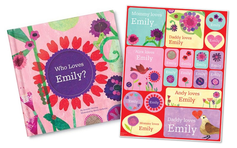 Give your child a beautiful personalized book #iseemebooks