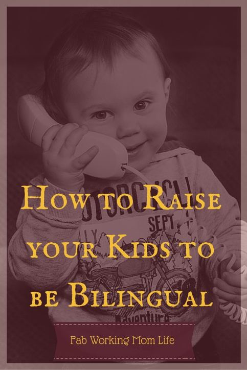 raise kids bilingual
