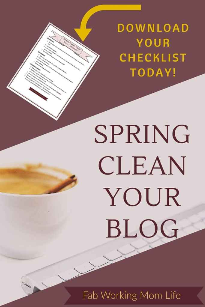 Spring Clean Your Blog with Free Checklist