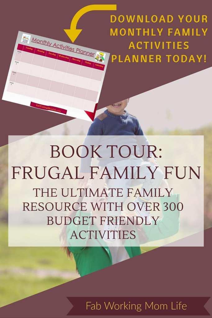 Frugal Family Fun book tour