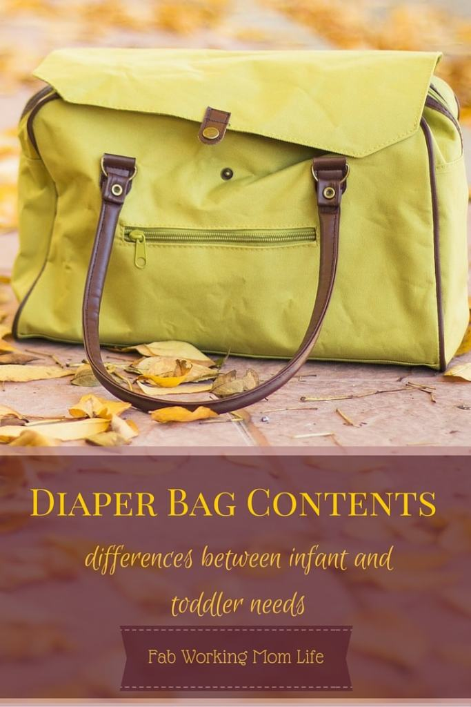 how to pack a diaper bag infants vs toddlers. Black Bedroom Furniture Sets. Home Design Ideas