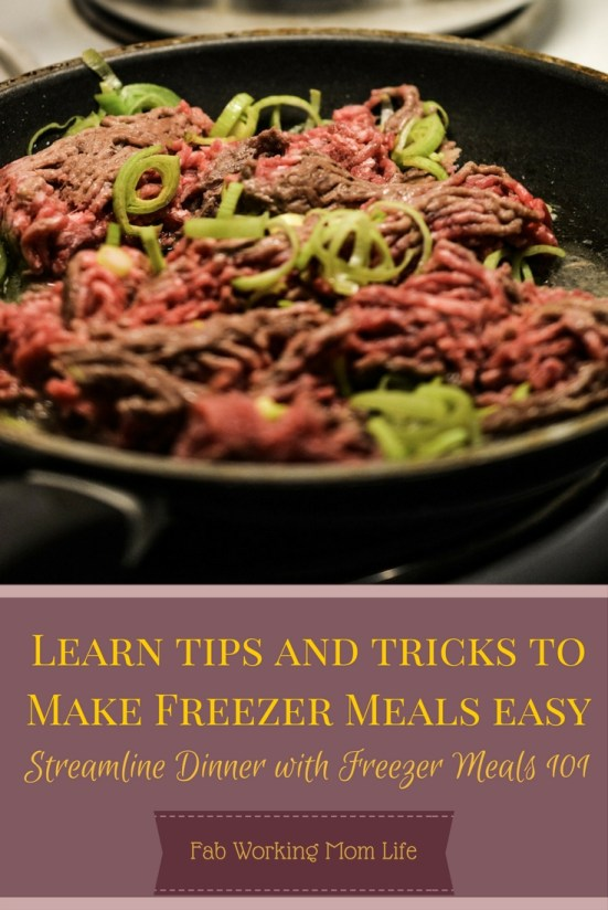 Freezer Meals 101 Learn Tips and Tricks