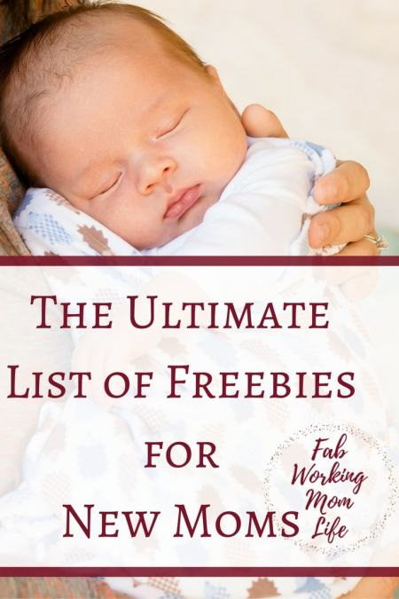 The Ultimate List of Freebies for New Moms