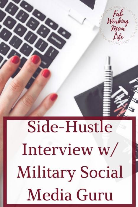 Side-Hustle Series- Interview with Military Social Media Guru