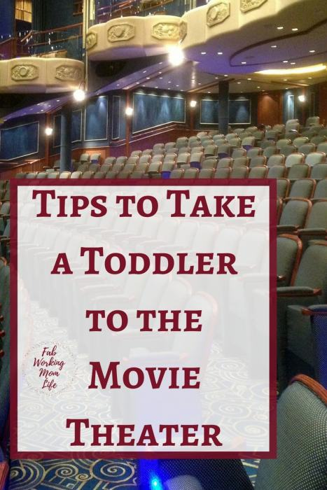 Tips to Take a toddler to the Movie Theater