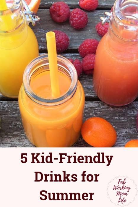 Kid Friendly Drinks for Summer