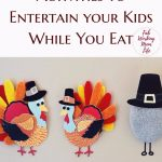 Thanksgiving Activities to Entertain your Kids While You Eat + Download a FREE Worksheet