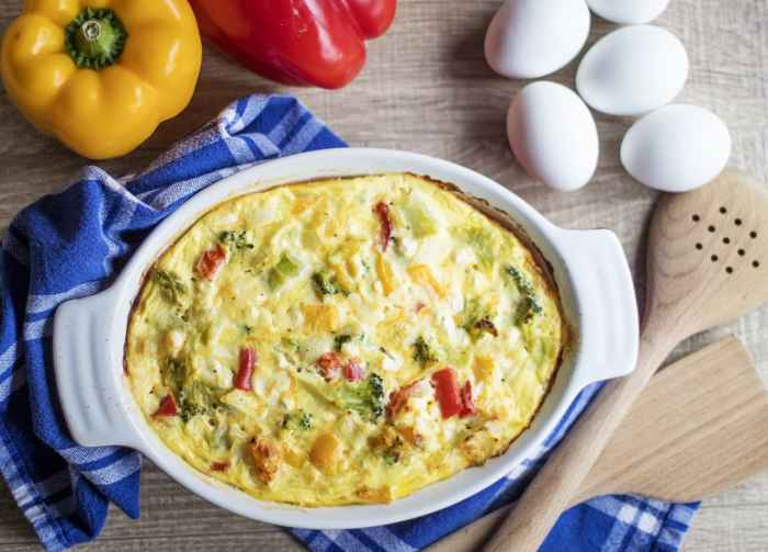 Overnight Breakfast Bake Casserole Here's your wake up breakfast casserole!