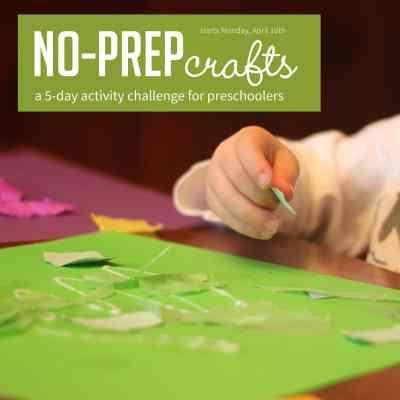No Prep Crafts Challenge