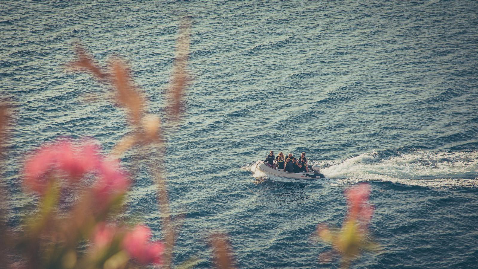 Cruising to Hydra