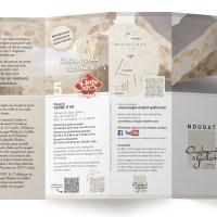 Création et réalisation d'un dépliant 4 volets Chabert & Guillot pour les Ateliers Voisin