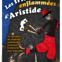 Affiche Les tribulations d'Aristide version feu