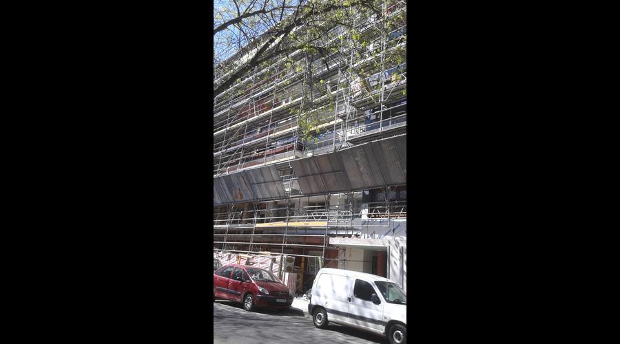 Rnovation De Faade Dun Immeuble Avec La Faade F4