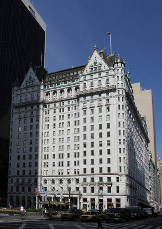 Plaza Hotel, historic window replacement, historic reservation, mansard roof