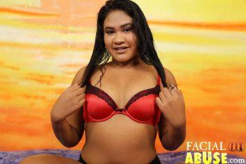Facial Abuse Chubby Asian Cunt