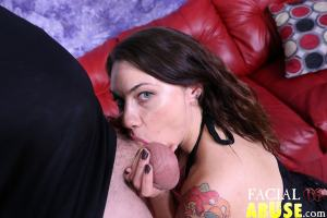 Facial Abuse When A Female Dom Gets Dommed