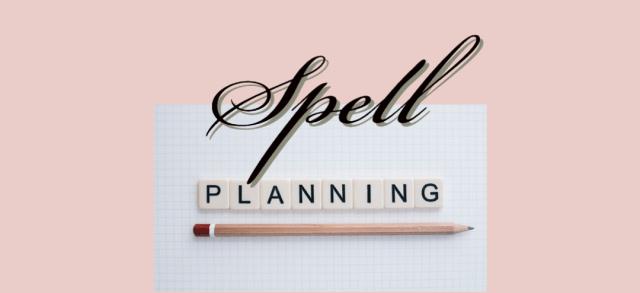 spell planning