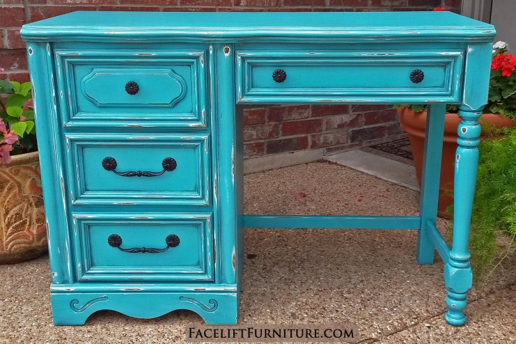 Desk Chunky Turquoise