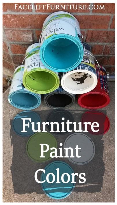 Furniture Paint Colors FLF