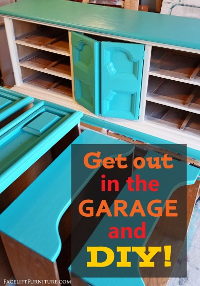 Fall is the perfect time for a DIY furniture refinishing project in the garage! With cooler temperatures and summer heat behind, the door opens on a great opportunity to tackle a furniture project before the holiday season settles in.