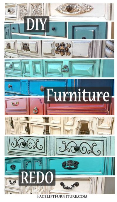 REDO Your Furniture with Paint, Glaze and Distressing