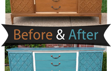 Cabinets – Before & After