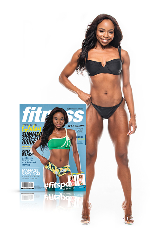 Farai, USN Face of Fitness