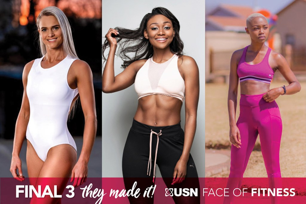 USN Face of fitness top 3