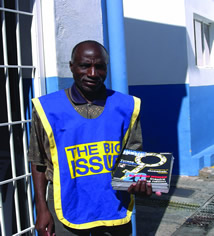 Once a begger now a Big Issue Vendor