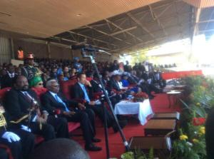 Invited guest at Mutharika inaugulation ceremony