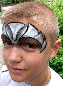 Thor Avenger Face Painting Cincinnati