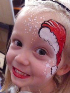 Christmas Face Painting Cincinnati Ohio El Rancho Nuevo