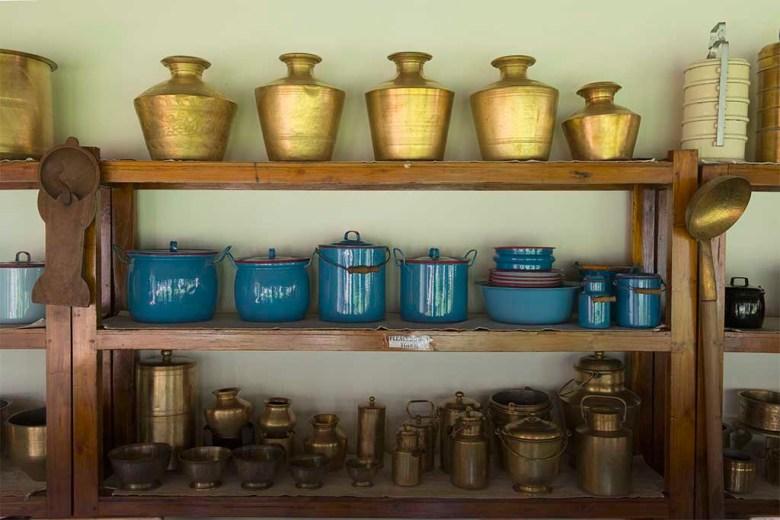 The Bangala, antique cookwear, Karaikudi, Tamil Nadu, South India, India, Faces Places and Plates blog