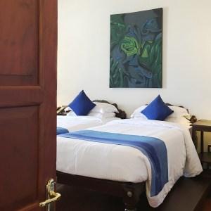 hotel room, Brunton Boatyard, Kochi, Fort Kochi, Cochin, Kerala, South India, India, Faces Places and Plates blog