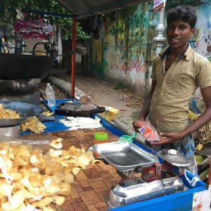 cassava chips, street food, Kochi, Kerala, South India, India, Faces Places and Plates blog