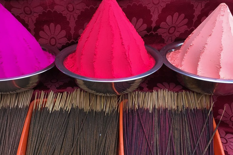 Incense, Kochi, Fort Kochi, Cochin, Kerala, South India, India, Faces Places and Plates blog