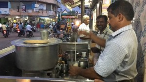 Chai wallah in Karaikudi