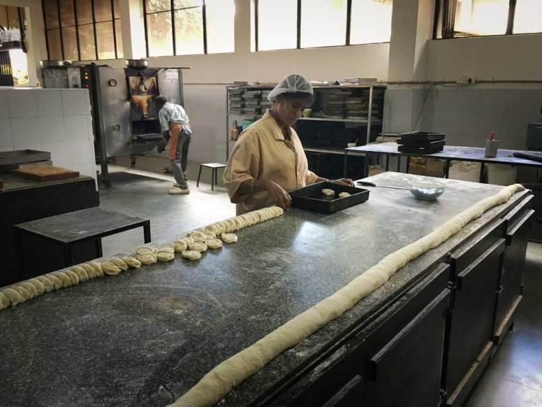the bakery at Isha in Coimbatore's Akshaya
