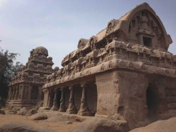 Pancha Rathas, Mamallapuram.