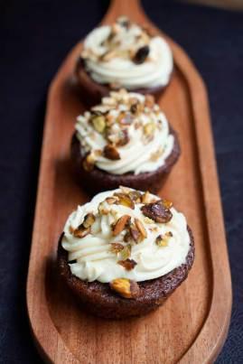 Cupcakes at Pumpkin Tales Restaurant, Chennai.