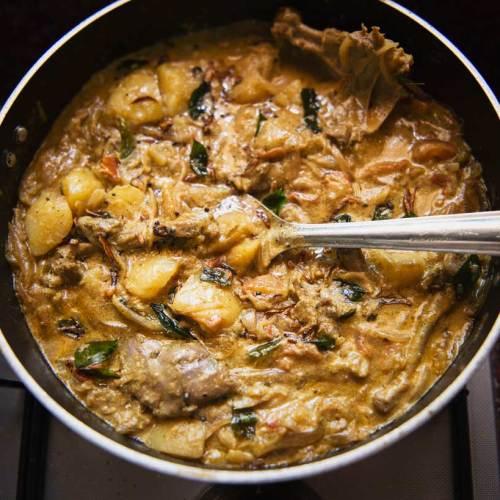 Anna Zacharria's Duck Curry